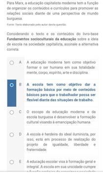 Apol¹ Antropologia e Sociologia da Educação