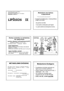 5 - Lipídios 2