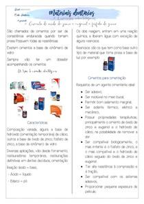 PDF RESUMO DE Cimento de oxido de zinco e eugenol e fosfato de zinco