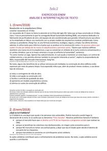 Lista de exercícios 1 - resolução