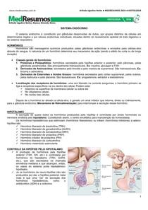 11   Sistema Endócrino - RESUMO