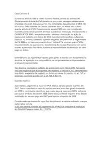 DIREITO TRIBUTÁRIO II - Caso Concreto 3