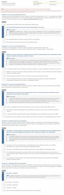 APOL 3 Abordagens Teóricas da Contabilidade Estrutura da Contabilidade Brasileira