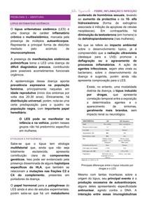 Resumo - Lúpus Eritematoso Sistêmico