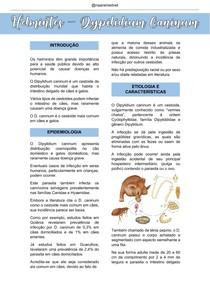 HELMINTOS - DIPYLIDIUM CANINUM