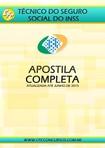 #INSS #ApostilaCompleta #NívelTécnico #2015 #Disciplinas Edital #Previdencia Atualizado