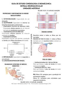3 - CINESIOLOGIA E BIOMECANICA - MÚSCULO ESQUELÉTICO