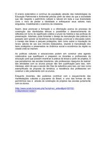 ATIVIDADE CONTEXTUALIZADA ESTUDOS CULTURAIS EM EDUCAÇÃO