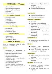 Anestesia e MPA