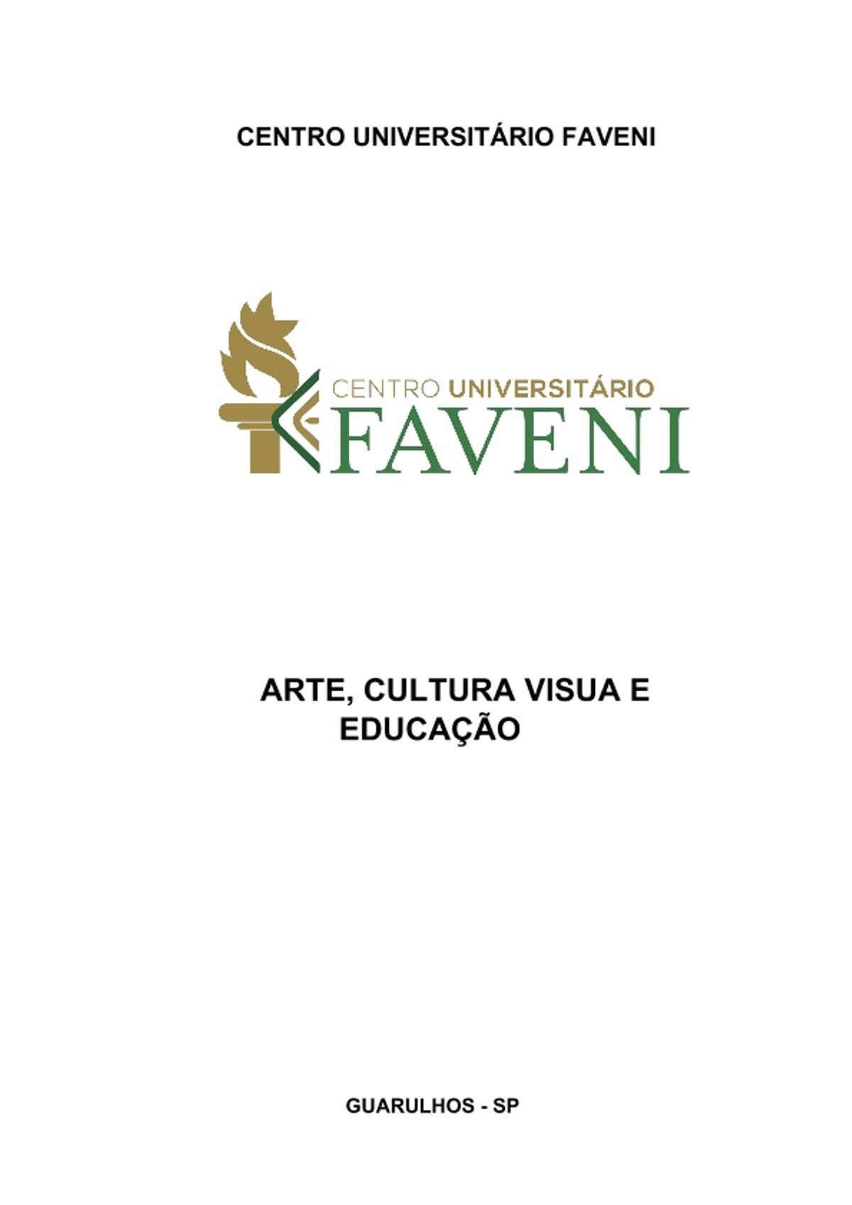 Pre-visualização do material Arte-cultura-visua-e-educação - página 1