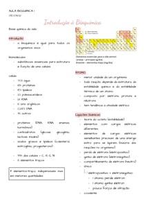 A1 Introdução à bioquímica