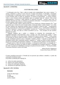 Português – Morfologia Composição das palavras. - Enem - 4 391c9568a1005