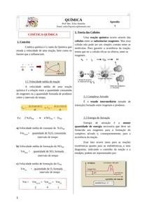 Apostila - Cinética Química