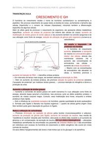 FISIOLOGIA II - CRESCIMENTO E GH