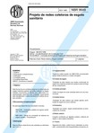 NBR 9649 - Projeto de redes coletoras de esgoto sanitario
