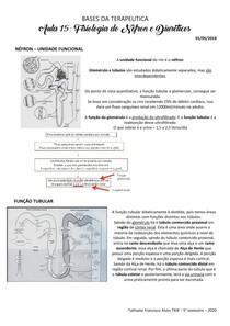 Fisiologia do Néfron e Diuréticos