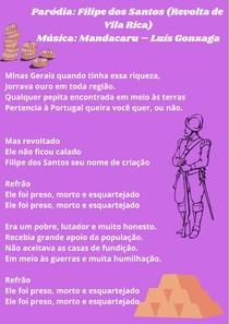 Paródia - Filipe dos Santos (Revolta de Vila Rica)