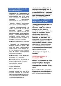 SCAPS- Programa nacional de imunização
