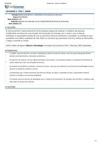 ATIVIDADE 2 - FSCE I - 2020A