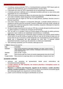emergencia TROMBOEMBOLISMO PULMONAR