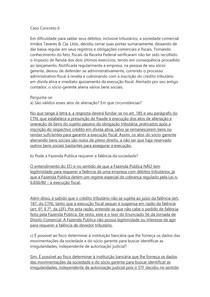 DIREITO TRIBUTÁRIO II - Caso Concreto 6