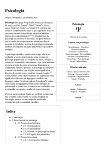 Psicologia – Wikipédia  a enciclopédia livre