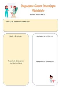Formulário Diagnóstico Ginecologia e Obstetricia