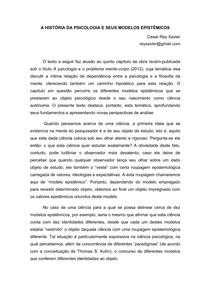 FUND. EPISTÊMICOS DA PSICOLOGIA