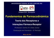 6 - Farmacodinamica - FARMACIA 5P - MAI 2010