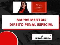 Mapas mentais: Lei de Excuções Penais (LEP)