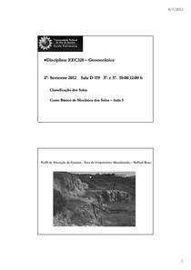 AULA1-Classificação dos Solos