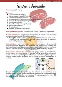 Aminoácidos e Proteínas   Processos Biológicos