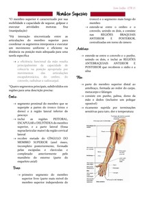Anatomia - MEMBRO SUPERIOR
