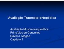 Avaliação Traumato ortopédica