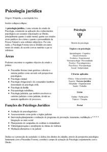 Psicologia jurídica – Wikipédia  a enciclopédia livre