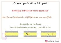 Princípio geral da cromatografia