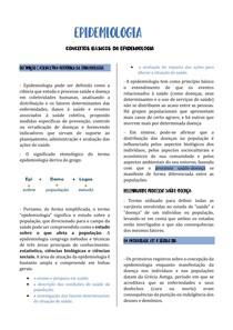 EPIDEMIOLOGIA - CONCEITOS BÁSICOS DA EPIDEMIOLOGIA
