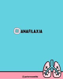 Resumo de Anafilaxia