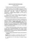 GUIA DE ESTUDOS PSICOPATOLOGIA FERNANDA SOARES