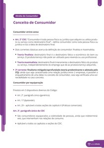Conceito de Consumidor - Resumo