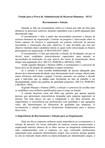 Estudo para a Prova de Administração de Recursos Humanos