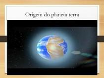Aula- formação do planeta Terra para alunos do 6°ano