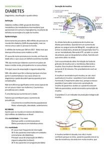 Diabetes - classificação, diagnostico, clinica