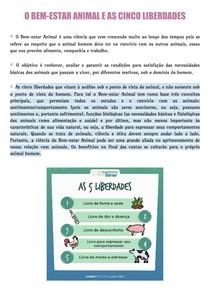 O BEM-ESTAR ANIMAL E AS CINCO LIBERDADES