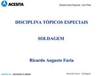 Soldagem - MET 140