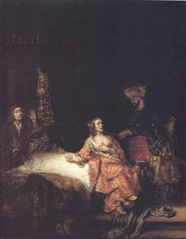 Rembrandt -Joseph and Potiphars Wife