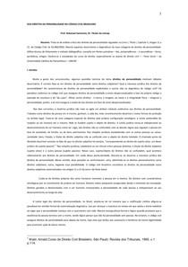 DIREITOS DA PERSONALIDADE_REVISTO