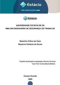 Rana Plaza - Legislação e Normas