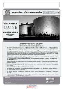 Simulado MPU Pós-edital - Analista - COM gabarito
