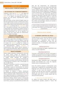 Resumo NP1 - Psicologia Comportamental